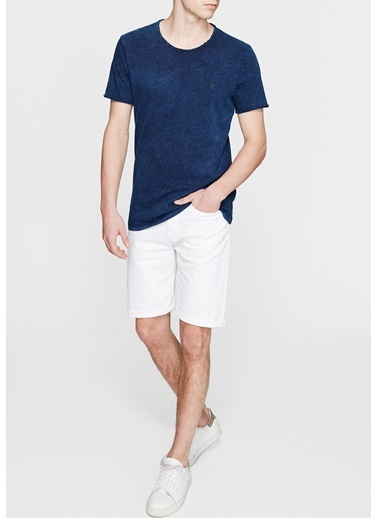Mavi Brian Comfort  Jean şort Beyaz